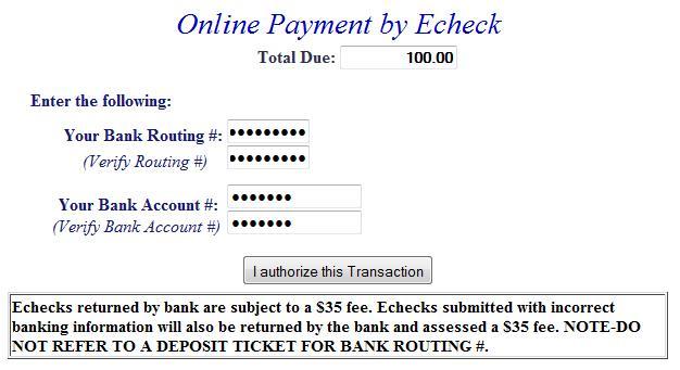 E-check example 1